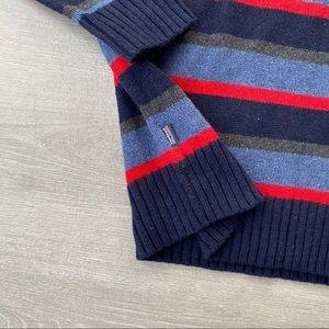 Patagonia Sweaters - Patagonia Wool Striped Crew Sweater